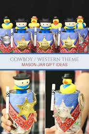 Mason Jar Party Favors Cowboy Mason Jar Gift Idea Altamonte Family