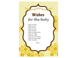 bee themed baby shower game magical printable