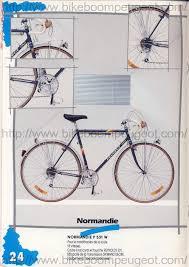 peugeot hybrid bike peugeot 1987 france brochure