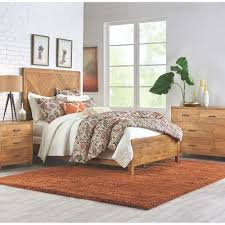 Home Decorators Collection Parkston Distressed Natural King Bed - Home decorators bedroom