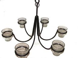 Candle Holder Chandeliers Wrought Iron Chandeliers And Hanging Candle Holders Candoliers
