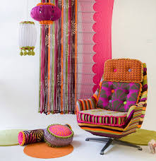 Deryn Relph Colourful Textile Interior Design And Home Decor - Home decor textiles