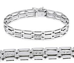 men white gold bracelet images 14k white gold mens rolex style fancy diamond bracelet 65 ct t w jpg