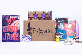 owlcrate subscription box ya monthly book club cratejoy