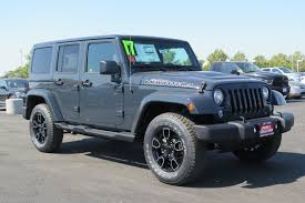 blue jeep 2017 jeep wrangler unlimited 4d sport utility in yuba