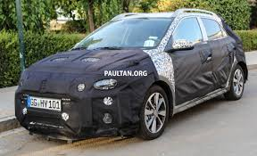 kereta hyundai ioniq spied hyundai i20 cross to take on vw cross polo
