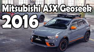 mitsubishi asx 2016 interior 2016 mitsubishi asx geoseek concept exterior interior review youtube