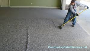 Garage Floor Paint Reviews Uk by How To Paint A Garage Floor With Epoxy Counter Top Paint Reviews