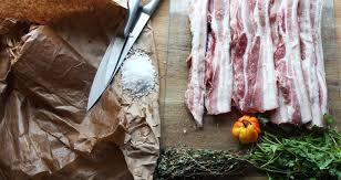 composition du sel de cuisine l enduit salé est tout simplement du flanc de porc qu on laisse