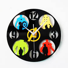 compare prices on avengers wall clock online shopping buy low