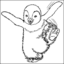 free printable happy feet coloring pages color zini