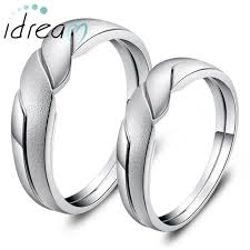 promise ring sets for him and interlocking infinity promise rings for couples polished