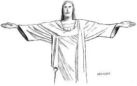 sketches for 2014 number 27 u2014 cristo redentor art fn
