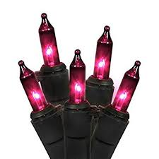 amazon com vickerman purple mini christmas halloween lights with
