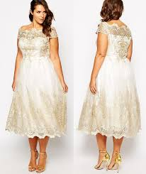 plus size wedding dresses with sleeves tea length this gorgeous plus size tea length wedding dress is everything you