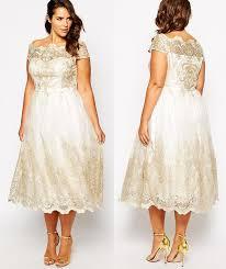 plus size courthouse wedding dress this gorgeous plus size tea length wedding dress is everything you