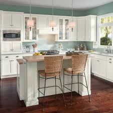 does home depot do custom cabinets american woodmark custom kitchen cabinets shown in cottage