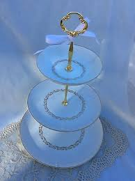 3 Tier Wedding Cake Wedding 3 Tier China Cake Stands Collection On Ebay