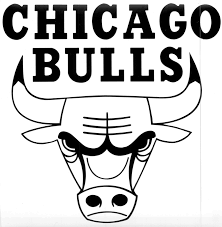 chicago bulls logo black and white be inspired pinterest