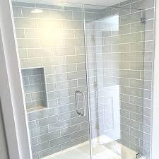 Glass Tile Backsplash Ideas Bathroom Bathtub Backsplash Tile Shower Wall Tile Gray Blue Subway Bathroom