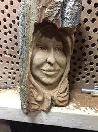 wood spirit sculpture handmade woodworking