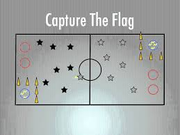 Flag Football Set For Adults P E Games Capture The Flag Youtube