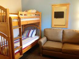 Bunk Bed Sofa Bed Family Suite With Bunk Bed Sofa Sleeper And Flat Screen Tv