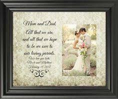 parents gift wedding parent wedding gift wedding photo frame parent
