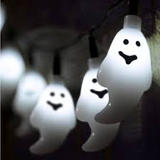 halloween ghost battery string fairy lights by garden selections