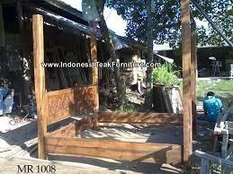 Indonesian Bedroom Furniture by Old Teak Wood Bed Java Bali Indonesia