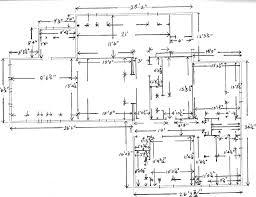 House Floor Plan With Measurements by Download House Measurements Zijiapin
