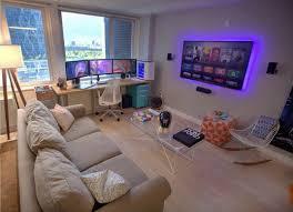 pc gaming desk setup 373 best pcs gaming u0026 tunning images on pinterest gaming rooms