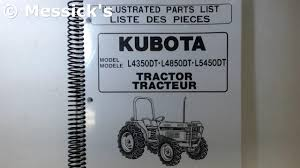 kubota l series kubota parts catalogs