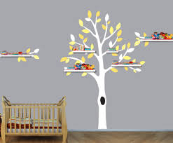 popular shelf tree decal buy cheap shelf tree decal lots from nursery tree shelf tree decals boys room wall stickers tree wall art