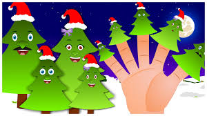 christmas tree finger family nursery rhyme finger family songs