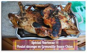chien cuisine poulet entier au barbecue sauce chien dérivé crapaudine