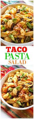 jeux cuisine bush easy taco pasta salad recette