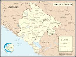 Map Of Italy And Croatia by Port Of Montenegro