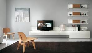 magnificent living room sets with tv using white gloss finish for