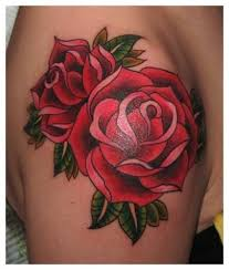 tattoo of a rose 203 best rose tattoos images on pinterest art designs picture