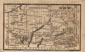 Erie Pennsylvania Map by 1830 U0027s Pennsylvania Maps