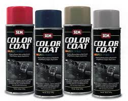 Sem Interior Dye Sem Color Coat 12 Oz Aerosol From Aircraft Spruce