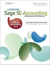 learning sage 50 accounting a modular approach harvey freedman
