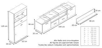 Wohnzimmerschrank F Kleidung Wohnwand Almada V2 Korpus In Weiß Matt Front In Avola Anthrazit