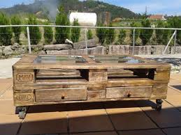 Wooden Pallet Coffee Table Recycled Wood Pallet Decoration And Functionality Home Design