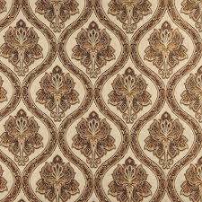 ivory upholstery fabric beige brown gold and ivory traditional brocade upholstery fabric