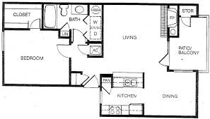 Bath Floor Plans by Apartments In Fort Worth Tx Havenwood Apartments