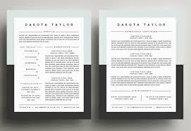 illustrator resume templates the best cv resume templates 50 exles design shack