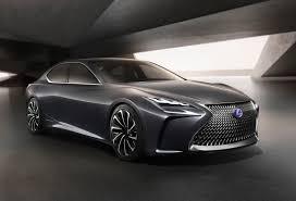 lexus ads 2017 next gen lexus ls to get hydrogen variant