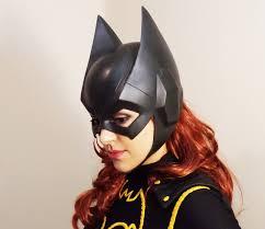 batgirl halloween costume accessories batgirl cowl mask batman arkham knight inspired v2